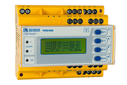 Bender voltage and current monitoring device electrical protection