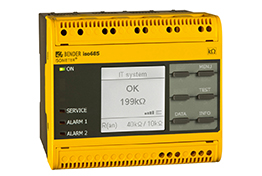 Bender insulation monitoring device electrical protection